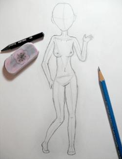 Ms Paint Doll Base Tutorial Niniques Minidollz